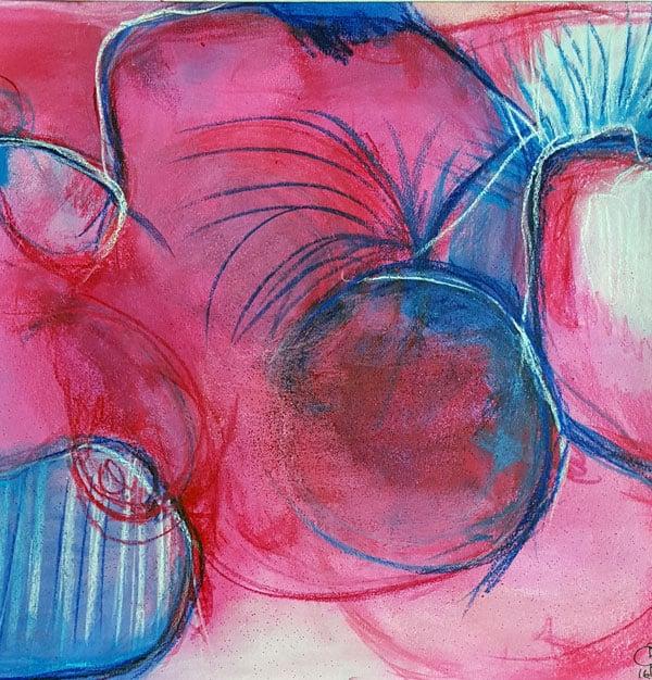 Sjælsbillede DNA-billede sjælsmaleri