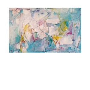 Den boblende frihed kunstmaleri