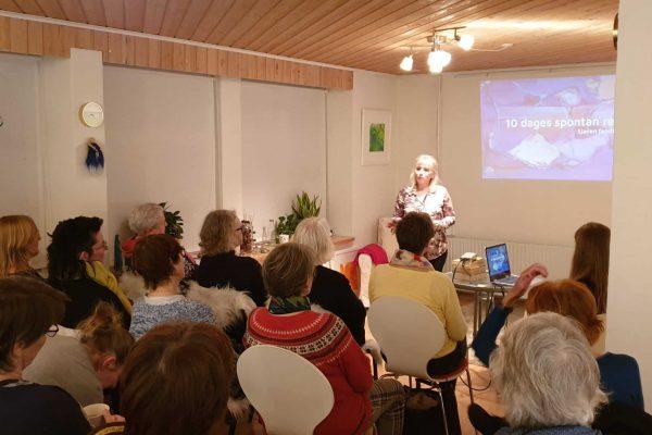 Christa Bundgaard holder foredrag